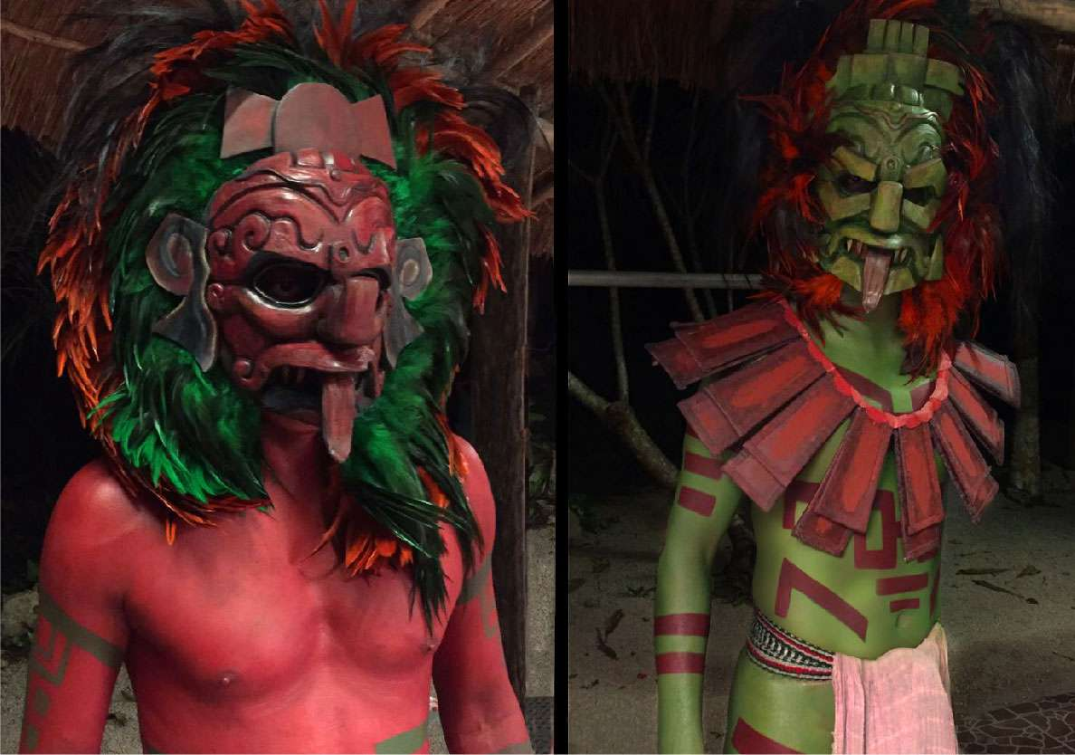 TV Commercial (Masks and Body painting). The Maestros 2016